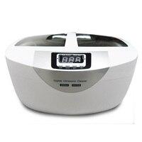 Ультразвуковые ванны машина для чистки AC200 240 В 50 Гц 42 кГц 70 Вт 2500 мл Профессиональный очиститель ювелирные часы ручная стирка оборудования