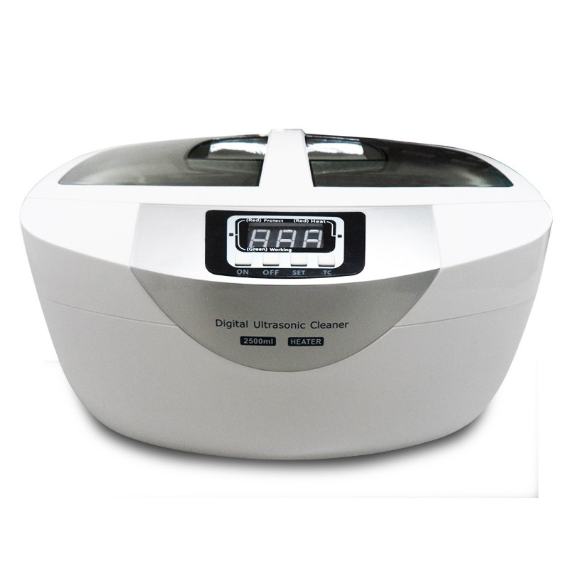 Ultrasonic Cleaners Cleaning Machine AC200 - 240V 50HZ 42KHZ 70W 2500ML Professional Cleaner Jewelry Watches Washing Equipment derui ultrasonic cleaner 80w ultrasonic washing machine jewelry ultrasonic cleaners dental equipment
