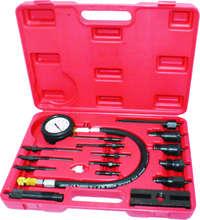 2017 НОВЫЙ 17 шт. Профессиональный Дизельный Двигатель Сжатия Тестер Tool Kit 1000 PSI WT04A1009
