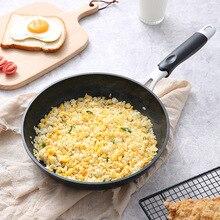 20CM Anti-scalding Handle Fried Pan Non stick Maifan Stone Fry Egg Pan Healthy Smokeless Pots used for Induction Cooker  255 induction cooker fry pan 28cm gas fry pan