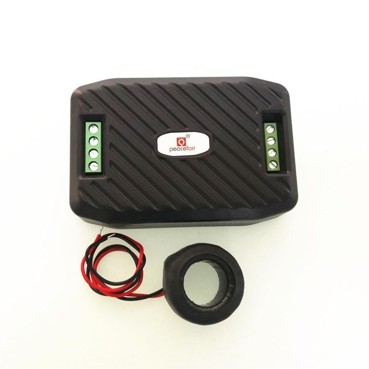 Medidor de energia digital ac 80 260 v 100a voltímetro amperímetro tensão corrente testador rs485 modbus computador software monitoramento