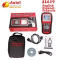 Autel Автоссылка AL619 ABS SRS reset CAN OBDII Диагностический Scan Tool AL 619 выключите Свет Двигателя Проверки сброс очищает коды мониторы