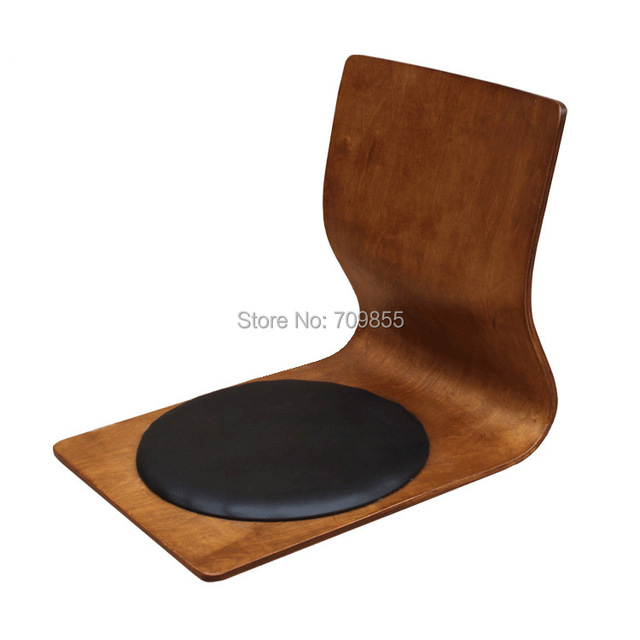 (6pcs/lot)  Floor Seating Furniture Chair For Livingr Room Coffee Finish Floor Tatami Zaisu Legless Kotatsu Japanese Chair