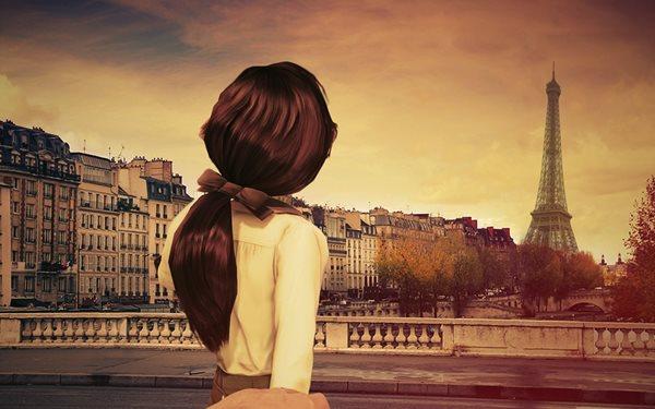 красивые фотографии со спины девушек