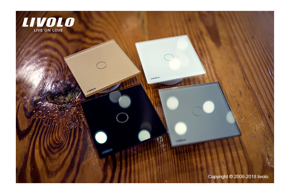 Livolo luxury Wall Touch Sensor Switch 44