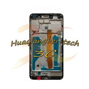 Image 3 - Neue Für Huawei Nova Junge 4g LTE MYA L11/Y6 2017 MYA L41 MYA L01 Volle LCD DIsplay + Touch Screen digitizer Montage Mit Rahmen