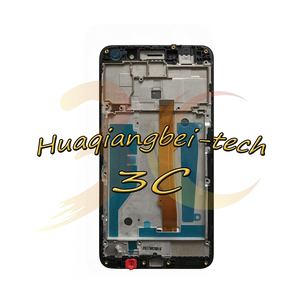 Image 3 - New For Huawei Nova Young 4G LTE MYA L11 / Y6 2017 MYA L41 MYA L01 Full LCD DIsplay + Touch Screen Digitizer Assembly With Frame