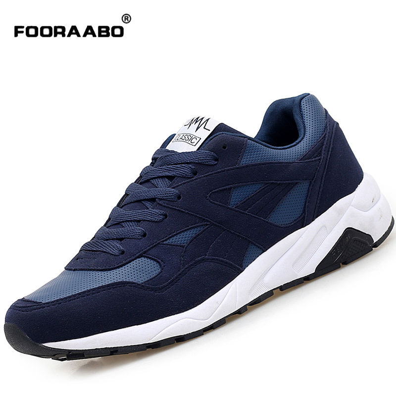 2018 New Fashion Casual Men Shoes Spring Breathable Lace Up Autumn Lightweight Footwear Men Shoes Blue Comfortable Flats Shoes 2017 new summer breathable men casual shoes autumn fashion men trainers shoes men s lace up zapatillas deportivas 36 45