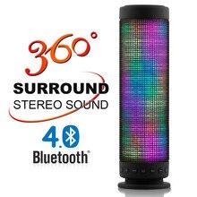 Portable De Danse Haut-Parleur LED Bluetooth Haut-Parleur 360 Degrés Stéréo Surround Bluetooth Mini Haut-Parleur 800709