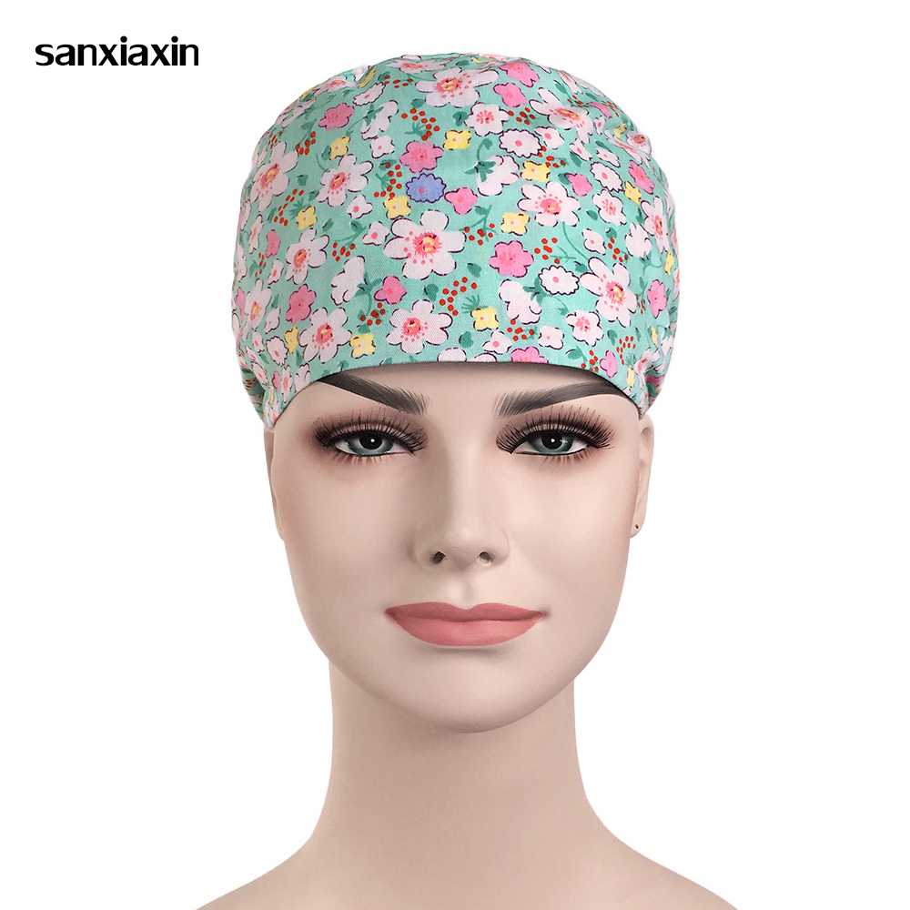 Back To Search Resultsnovelty & Special Use Accessories Wholesale Cartoon Printing Medical Hospital Laser Eye Operating Room Work Cap Elastic Bandage Unisex Surgical Nurse Doctor Hat