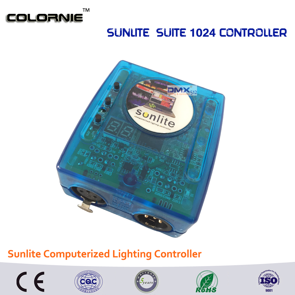 DHL Free shipping  Sunlite Suite1024 DMX Controller 1024 CH Easy Show Lighting Effect Stage Equipment , DMX Color changing Tool dhl free shipping sunlite suite1024 dmx controller 1024 ch easy show lighting effect stage equipment dmx color changing tool