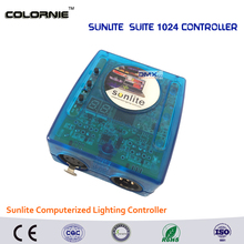 DHL Free shipping  Sunlite Suite1024 DMX Controller 1024 CH Easy Show Lighting Effect Stage Equipment , DMX Color changing Tool