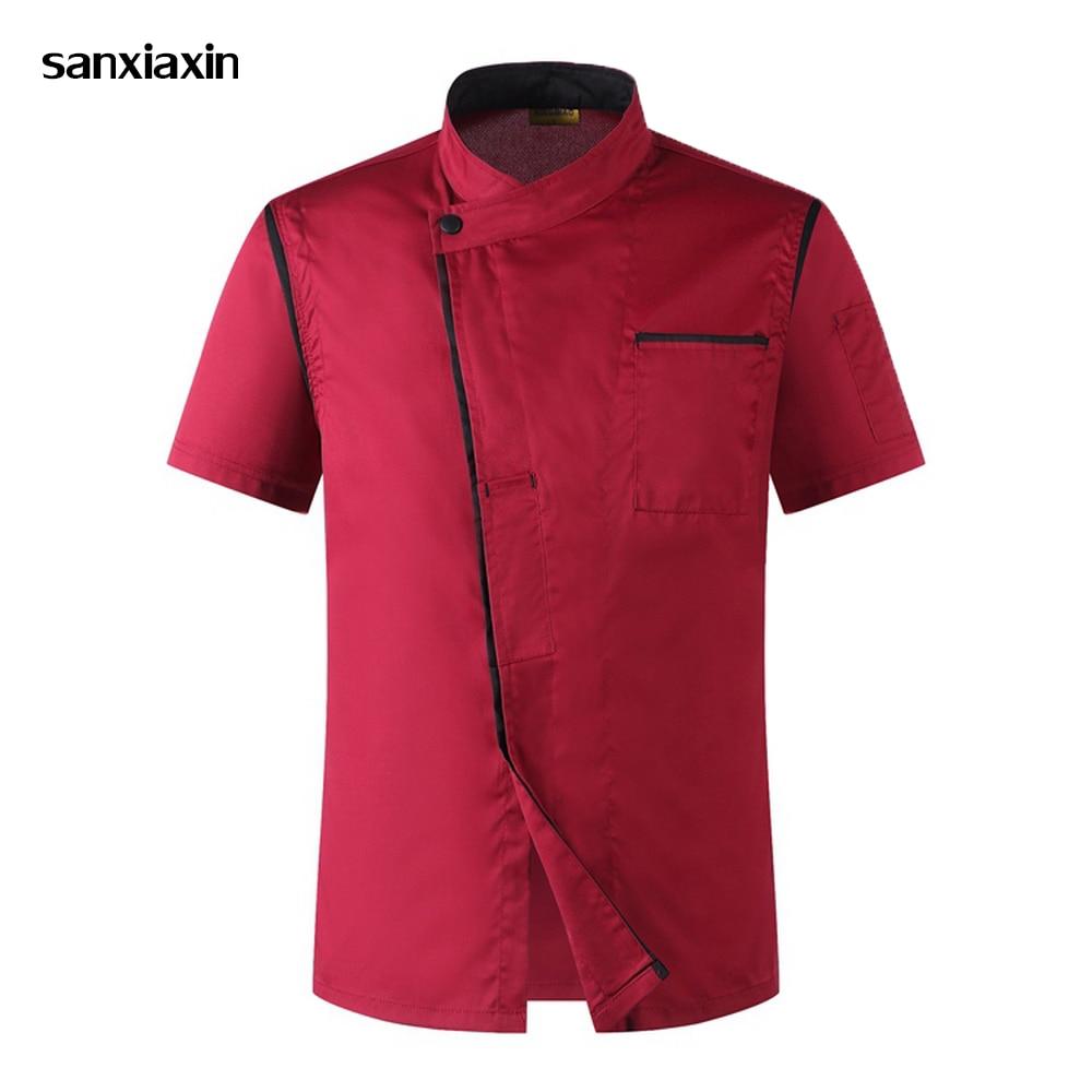 buscar auténtico precio justo bien conocido Venta al por mayor Unisex Chef chaquetas Hotel cocina ...