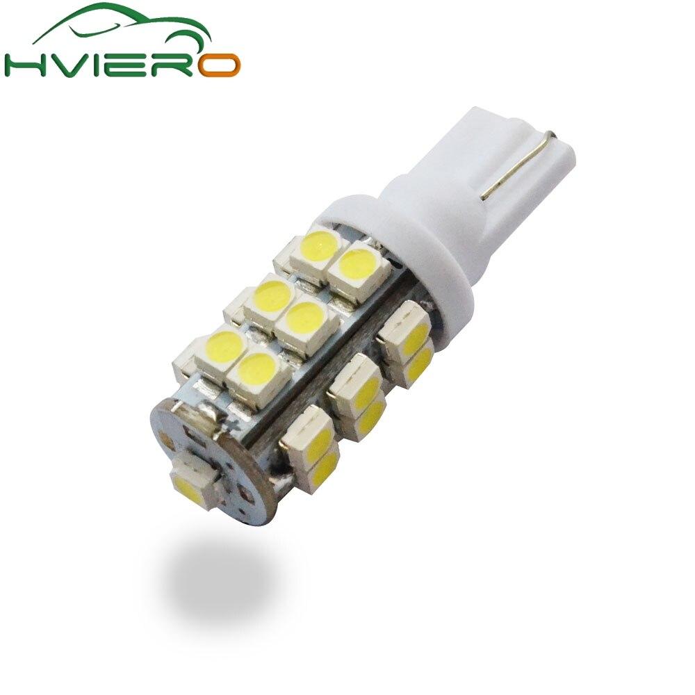 Purple T10 158 194 168 921 W5W 2835 20SMD LED Car Light Bulb Lamp 12V 1pc Pink