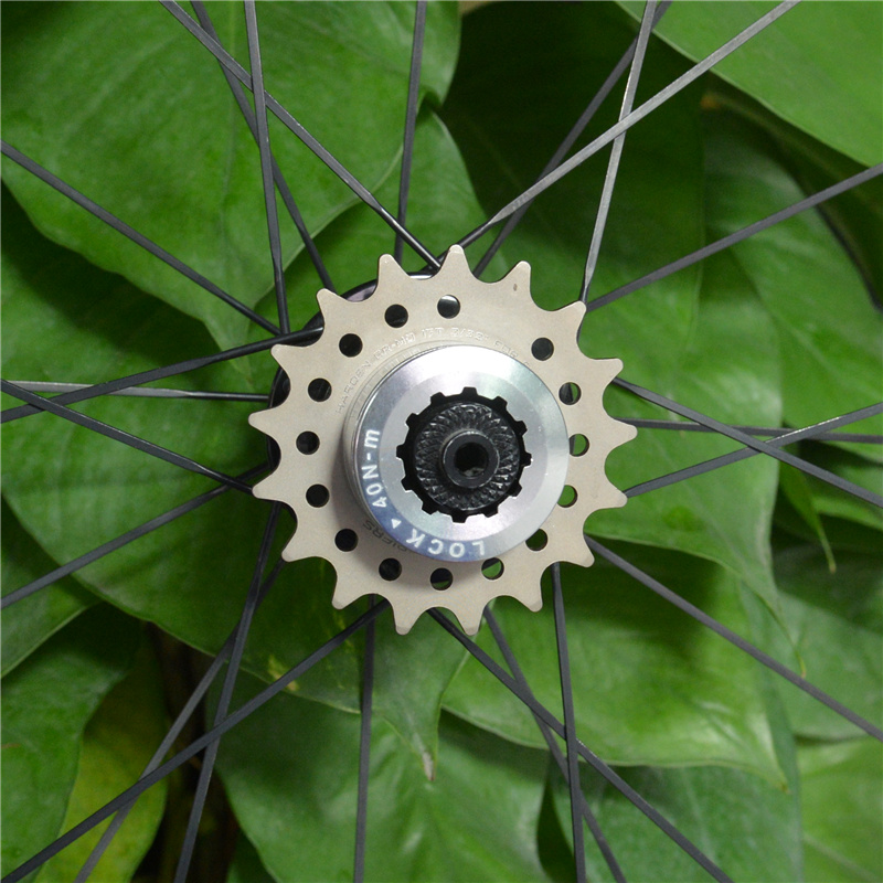 FOURIERS BMX Sprocket Gear 16T-23T Bike Single Speed Freewheel Aluminum Adapter