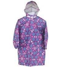 Cartoon Snowflake Pattern Raincoat For Kids Waterproof Unisex Rain Poncho 2016 Luxury Lovely children Designer Flower Rain Suit