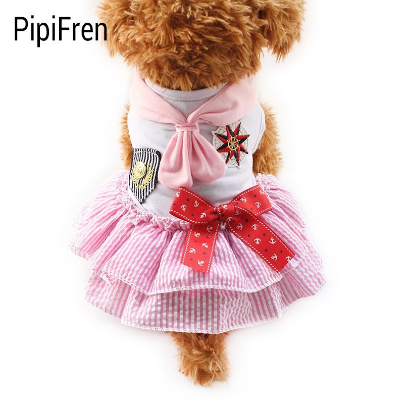 Bridal Shoes Yorkshire: PipiFren Small Dogs Clothes Pink Lace Princess Wedding