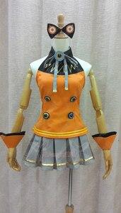 VOCALOID 3 Korea SeeU Cosplay Costume Anime Custom Made Uniform(China)