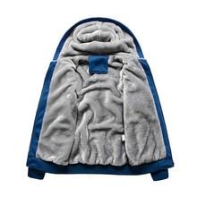 Men Winter Warm Hoodies Sweatshirts Brand Clothing Uniform Streetwear Jacket Fleece Hoodies jaqueta masculina Plus Size 5XL