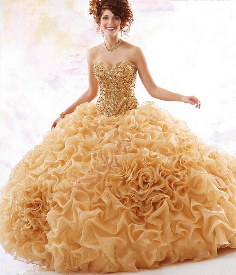 Us 2390 48 Offluxury Quinceanera Dresses Vestidos De Quince Anos 2018 Dress For 15 Years Sweet 16 Ball Gowns Princess In Dresses From Womens