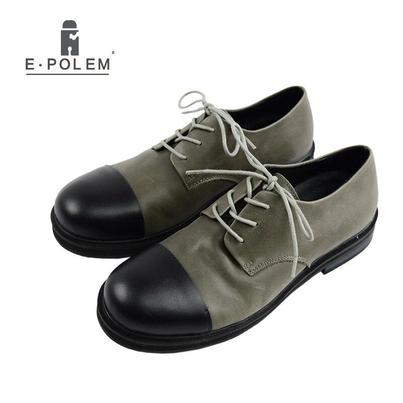 Naujas mados stilius Vyrai Martin bateliai atsitiktiniai vyriški batai Aukštos kokybės odos karvės odos platformos batai Motociklų butų batai