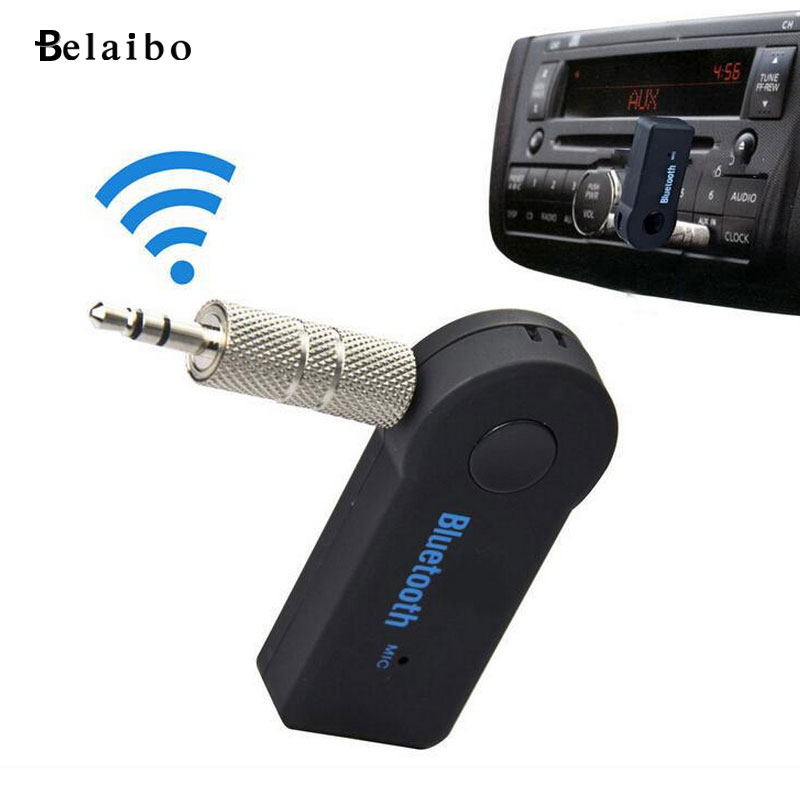 Bluetooth Wireless Audio Receiver Bluetooth adapter Bluetooth hands free 3.5 mm car AUX Bluetooth transceiver car styling