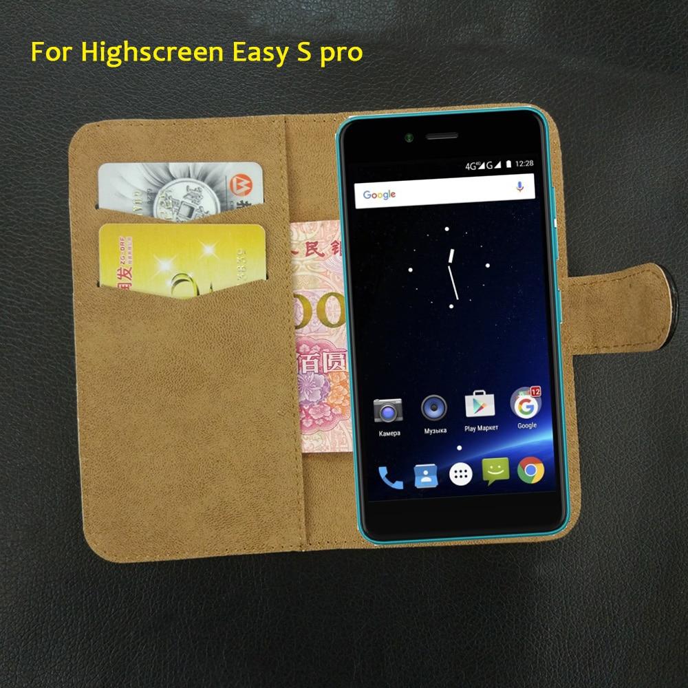 6 Colors Super!! Highscreen Easy S pro Case Flip Dedicated ...