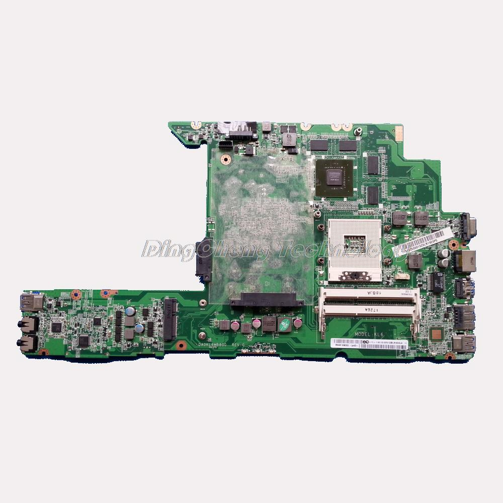 SHELI laptop Motherboard/mainboard for Lenovo z470 z470A with 8 video chips non-integrated graphics card 100% tested Fully