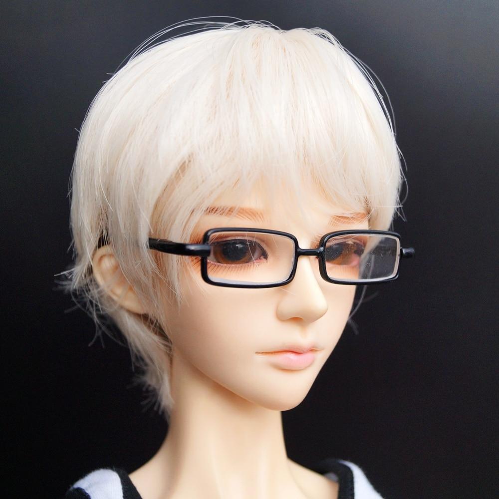 """1//4 BJD Glasses Vintage Handsome Black Frame Glasses For 1//4 17/"""" MSD BJD Doll"""