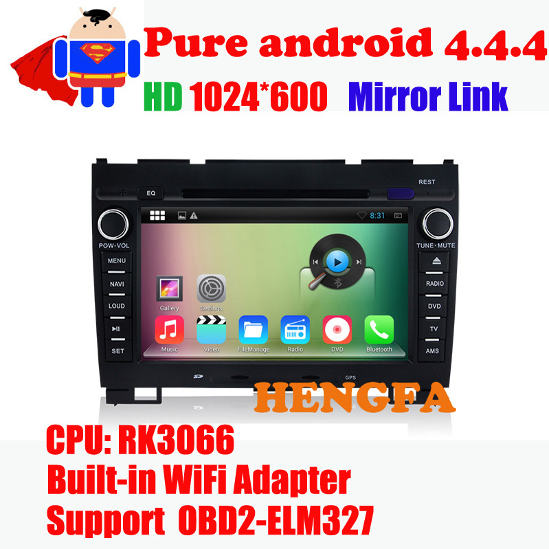 Android 5.1 Car DVD Player 1024*600  For Great Wall Hover H3/H5 (2010-2013) with Radio BT RDS Video GPS Navi Quad core WIFI 3G
