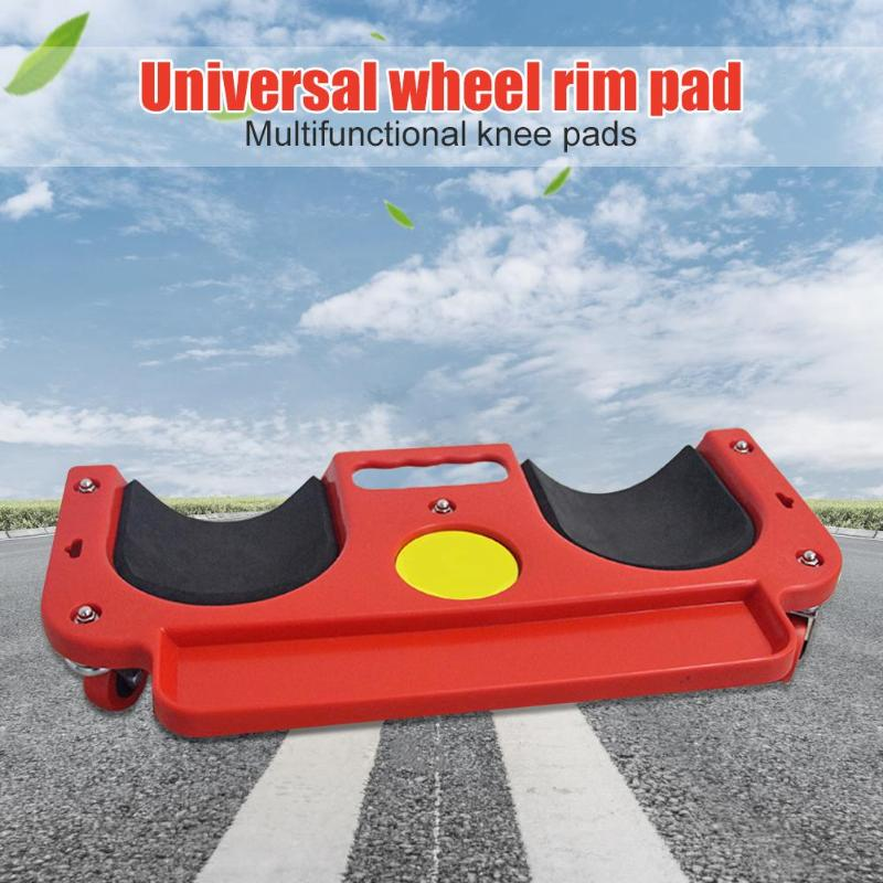 Image 3 - Universal Rolling Knee Protection Pad with Wheel Built in Foam Padded Laying Platform Wheel Kneeling Pad Multi functional Tool-in Tool Parts from Tools