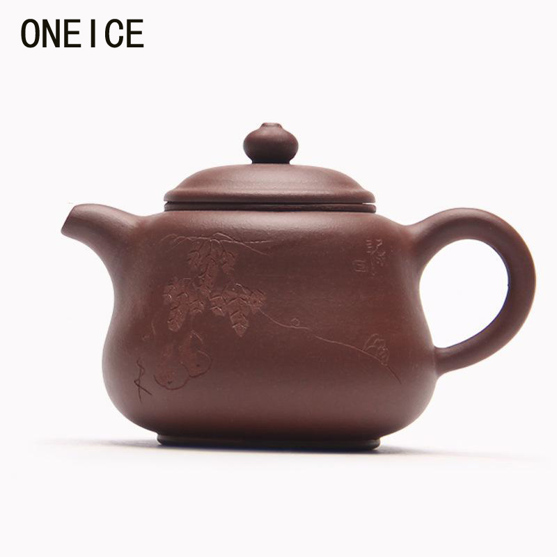 Yixing teapot tea pot filter beauties handmade Gourd pot authentic  Hi Quality 200ML Chinese Yixing Teaware Teapots