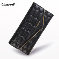 COSSROLL Lady S Purse Clutch Wallet Designer Wallets Famous Brand Women Wallet Female Fashion Hasp Small