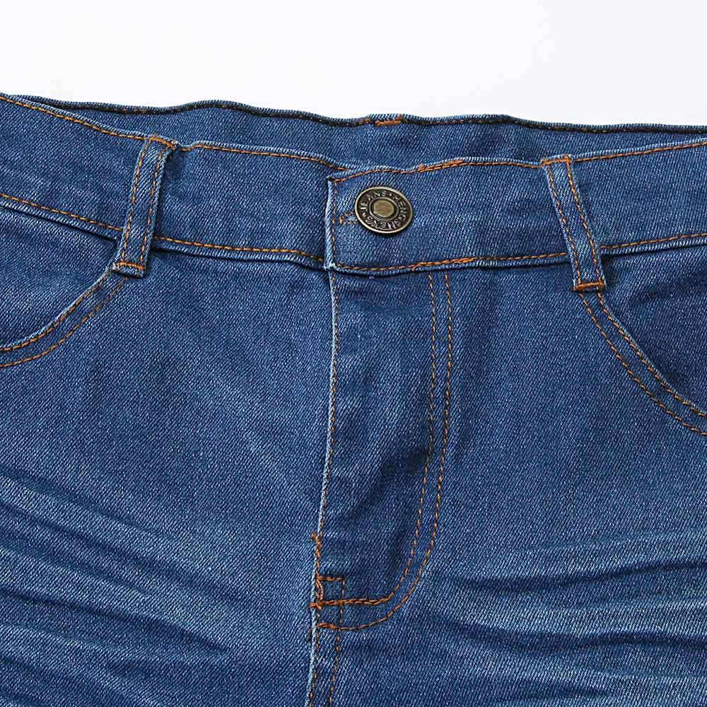 Одежда для маленьких девочек, футболка с длинными рукавами + джинсовые штаны, 1 комплект, одежда для маленьких девочек, лето 2019, новая модная детская одежда