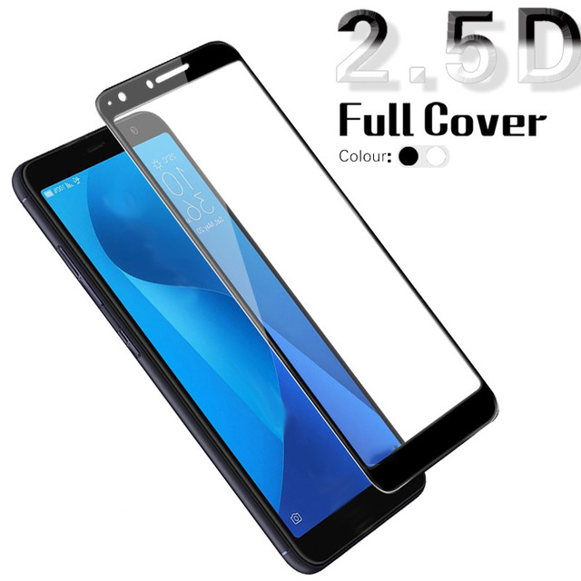 Tempered Glass For <font><b>ASUS</b></font> <font><b>Zenfone</b></font> Max Pro M1 M2 ZB602KL ZB555KL 5 5Z Live L1 ZA550KL <font><b>ZE620KL</b></font> ZS620KL 3 4 Max Full Screen Protector image