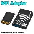 Portátil sem fio wifi sd cartão micro sd microsd tf adaptador conversor para câmeras nikon fotos sem fio para tablets telefone