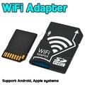 Portable Wireless Wifi SD Card Micro SD MicroSD TF Adapter Converter for Nikon Cameras Photos Wirelessly to Phone Tablets