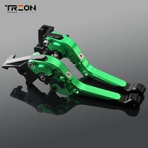 Image 3 - CNC Aluminium Motorrad Folding Erweiterbar Bremse Kupplung Hebel Griff Für Kawasaki Z650 Z 650 2017 2018 2019 Zubehör