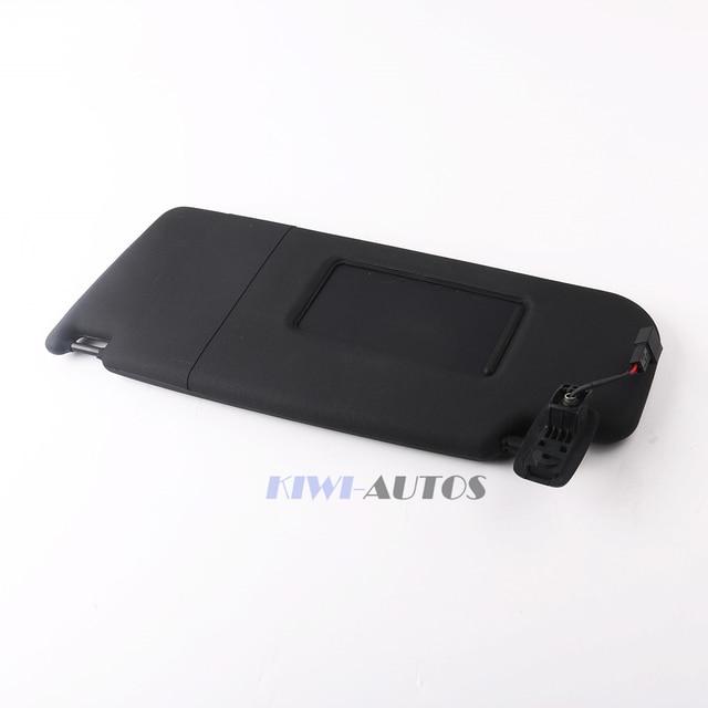 OEM Sun Visor Left Side Black 1KD 857 551 A Fit VW PASSAT B7 CC JETTA MK5 1KD857551A 1KD 857 551A