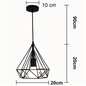 Image 4 - Vintage Industriële Rustieke Inbouw Plafondlamp Metalen Lamp Armatuur Nordic Stijl Dorp Stijl Creatieve Retro Licht Lampen