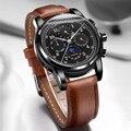 Карнавальные автоматические часы для мужчин Moon phase, многофункциональные, relogio masculino, Лидирующий бренд, роскошные механические мужские часы и...