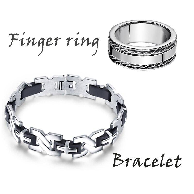 Кольца браслеты мужские из стали
