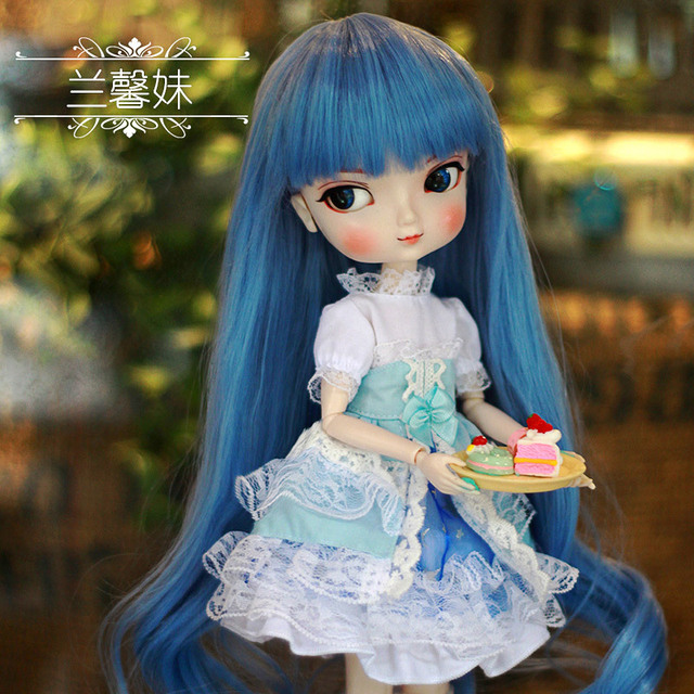 Free Shipping 35cm Jimusuhutu SD BJD Fashion Girl Dolls 1/6 Ball Joint Resin Kit Pretty Gril Doll Classic Gift Toy for Girl 3