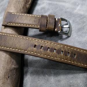 Brown Vintage Leather Strap Wa