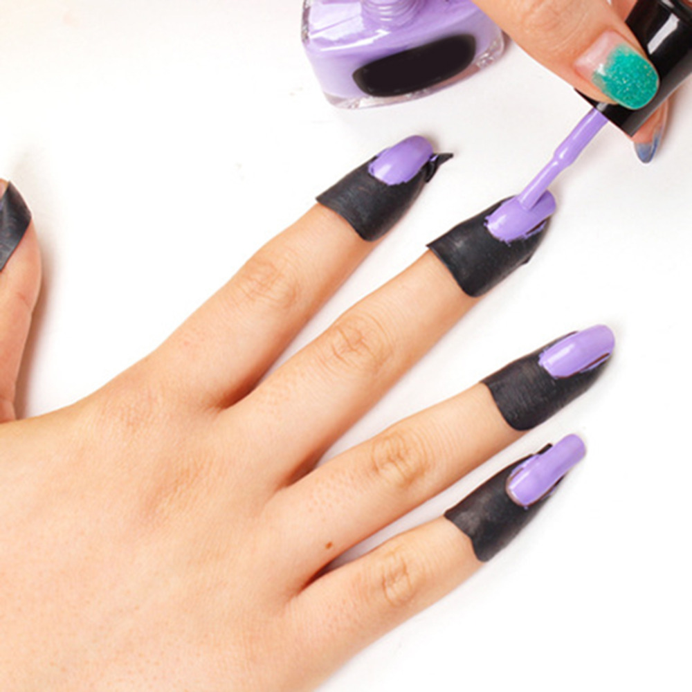 New arrive Peel off tape for nails Painting polish guard protectors ...
