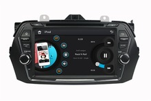 HD 2 din 8″ Car dvd player for Suzuki Ciaz 2015 2016 With Radio gps navigation Bluetooth ipod SWC USB TV AUX IN