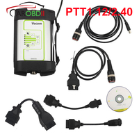 2019 PTT1.12/2.40 Volvo 88890300 Vocom Interface for Volvo/Renault/UD/Mack Truck Diagnose Round Interface With Online Update