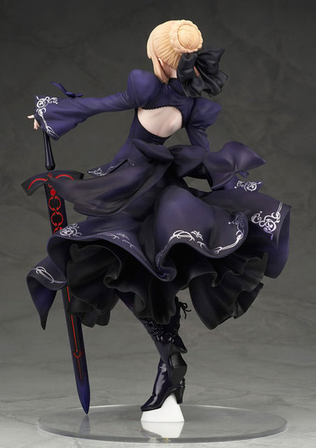 NEW hot 26cm Fate Zero Fate stay night black saber Arturia Pendragon action figure collection toys Christmas gift no box 3