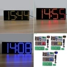 ECL 132 DIY ערכת Supersized מסך LED תצוגה אלקטרונית עם שלט רחוק Whosale & Dropship
