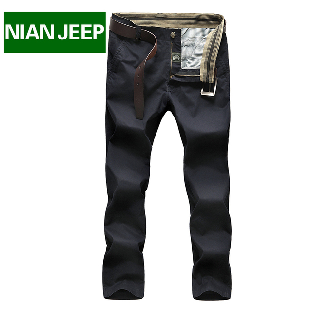 Loose Men Pants For Summer Spring Autumn Cargo Pants Brand NianJeep Cargo trousers Full Length Military Casual Clothing